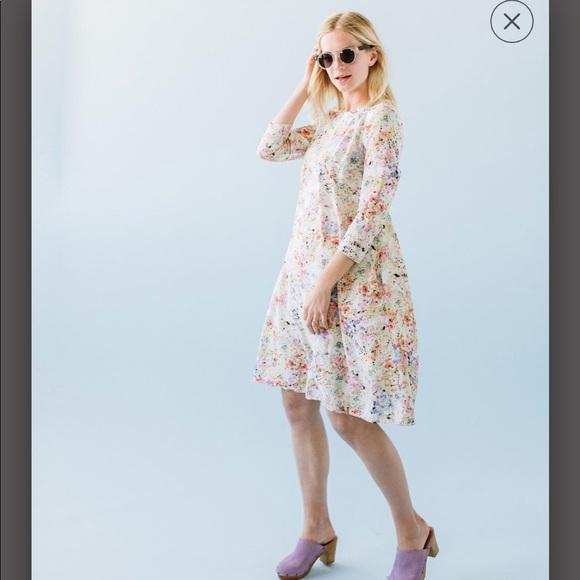 fa69766123 Sonnet James Brielle floral dress WORN ONCE. M_5b6da5da10fc548fbb94309c